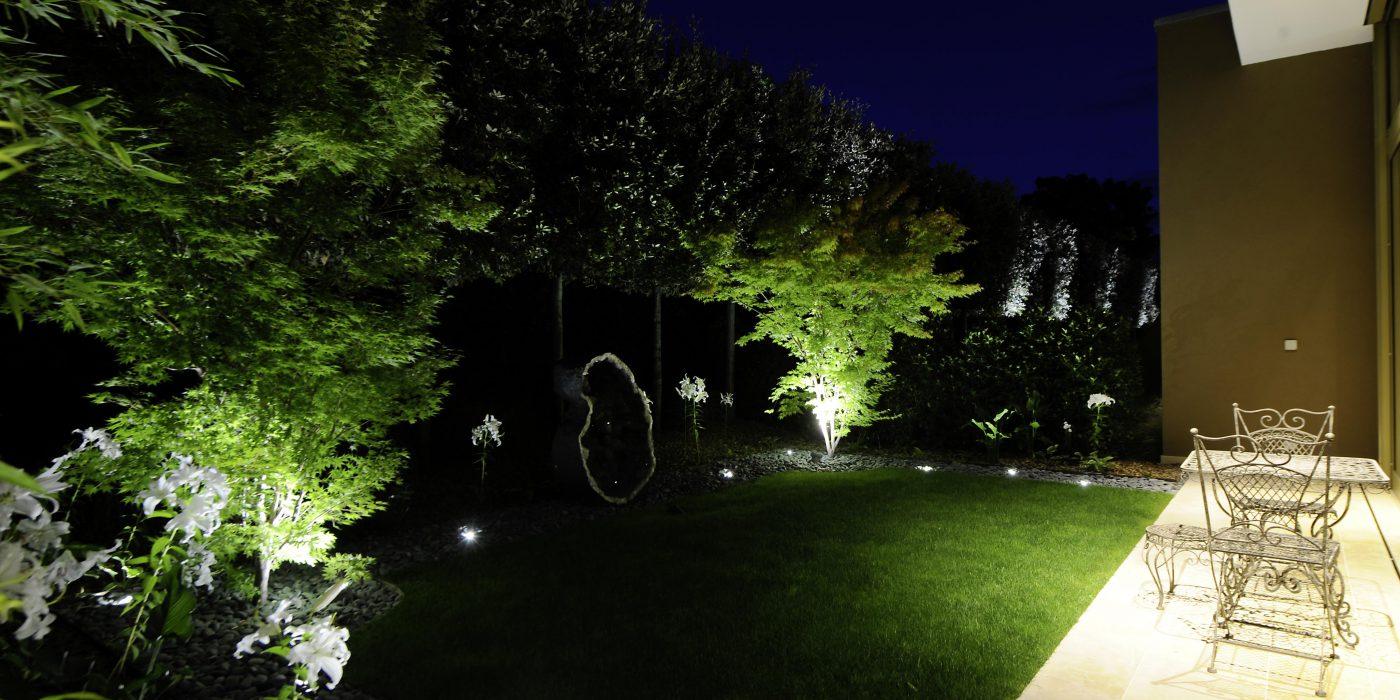 Eclairage de jardin Genève